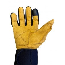 Model 425 Power Series Lifting Gloves with Wrist Wraps & Full Finger Protection